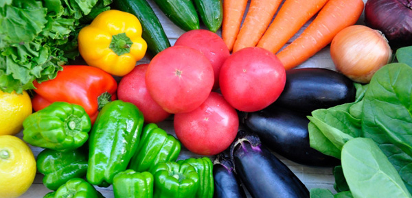 様々な種類の野菜